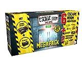 Noris - Escape Room Mega Pack - Familien und Gesellschaftsspiel fr Erwachsene, inkl. 8 Fllen und...