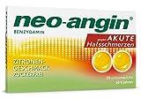 Neo-angin bei akuten Halsschmerzen mit Zitronengeschmack, 20