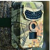 Jagdpfad Kamera 1080p Deer Feeder Infrarot-LEDs Jagd Fotofallen Wildlife Trail Camera Nachtsicht