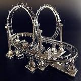 klkll Metall Modell Modell3D Metall Montage ModellVergnügungseinrichtungen Puzzle...