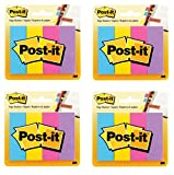 Post-it Page Marker, sortiert Ultra Farben, 1x 3Zoll, 50-sheets/Pad, 4-pads/Pack 800 Sheets
