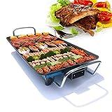 Teppanyaki Grill Plate Elektro-Kochplatte Grill 1500W BBQ Flat Frying,210_230v,40 * 24cm