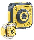 Somikon Kinder Action Cam: Kinder-HD-Actioncam mit Unterwasser-Gehäuse & 6 virtuellen Foto-Rahmen...