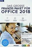 FRANZIS Das große FRANZIS Paket für Office 2018|Office-Vorlagen|keine Einschränkung|zeitlich...