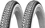 P4B | 2X 26 Zoll Fahrradreifen (47-559) | 26 x 1.75 | Breite Auflagefläche sorgt für Langlebigkeit...