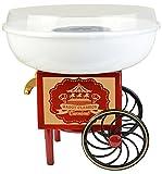 Gadgy  Zuckerwattemaschine Wagen für Zuhause | Cotton Candy Machine | für Zucker oder Harte...