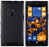 mumbi Hlle kompatibel mit Nokia Lumia 830 Handy Case Handyhlle, schwarz
