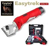 Easytrek Pferde-Schergerät, kabellos, wiederaufladbar, strapazierfähig, für alle Fellarten