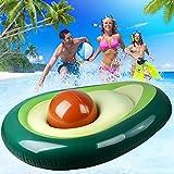 Moonvvin Avocado Aufblasbar Schwimmen Ring Erwachsene Aufblasbar Schwimmend Bett Schwimmend Reihe...