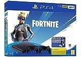 PlayStation 4 Slim - Konsole (500GB, Jet Black) + 2 Controller: Fortnite Neo Versa Bundle