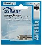 Skymaster AKM Antennen/Kupplung/Stecker Metall Set schwarz