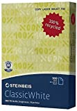 Steinbeis Eco-Premium-Papier - ClassicWhite 2500 Blatt - 80 g/qm - ISO70 - DIN-A4 -...