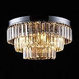 Asvert 70W Kronleuchter Pendelleuchte LED Kristall G9 Luxuriöse Deckenleuchte Modern Hängelampe...