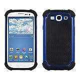 kwmobile Hülle kompatibel mit Samsung Galaxy S3 / S3 Neo - Hybrid Handy Cover Handyhülle Case...