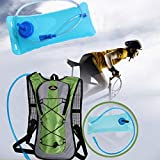 AOBAMA trinkrucksack,2L Wasserblasenrucksack Wasserspeicher Tasche Fahrrad Fahrrad Blase Trinksystem...