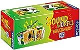 KOSMOS 697365 - Soundwürfel Bauernhof, Lernspielzeug mit Geräuschen, für Kinder ab 2 Jahre,...
