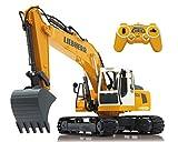 Jamara 405060 - Bagger Liebherr R936 1:20 2,4G - realistische Funktionen (entladen/ aufladen), jedes...