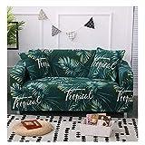 wjwzl Sofabezug, Polyesterfaser, Regenwald-Bedruckt, Stretch-Bezug, passend für die meisten...