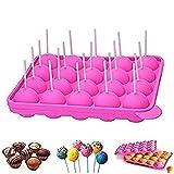 Newthinking Cakepopform, für Cupcakes, Backform mit 20 Mulden, BPA-frei, lebensmittelecht, für...