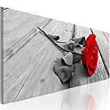murando - Bilder Blumen Rose 120x40 cm Vlies Leinwandbild 1 TLG Kunstdruck modern Wandbilder XXL...