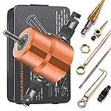 Blechknabber Cutter, Doppelspitze Blechschneiden Knabber Metallsäge Cutter 360 Grad verstellbarer...
