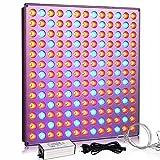 YASBED LED Pflanzenlampe, 75W Wachstumslicht für Zimmerpflanzen Vollspektrum Pflanzenlicht für...