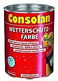 Consolan Wetterschutzfarbe wei 2,5L