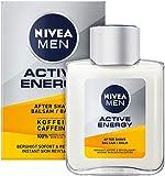 NIVEA MEN Active Energy After Shave Balsam (100 ml), revitalisierendes After Shave, Hautpflege nach...