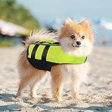 PETLESO Hundeschwimmweste Rettungswesten für Hunde Reflektierende Schwimmweste für Hunde mit...