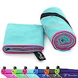 NirvanaShape Mikrofaser Handtücher | saugfähig, leicht, schnelltrocknend | Badehandtücher,...