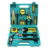 Grund Tool Box DIY Set Startseite Tool Kit mit Schraubendreher Aufbewahrungsbehältern für Haushalt...