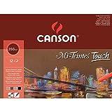 Canson 200005425 - Mi-Teintes Touch Pad - A3 - 12 Blatt