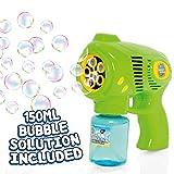 Bubble Mania - Seifenblasenpistole - Automatische Seifenblasenmaschine für Kinder -...