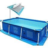 Pools Schwimmbecken Swimmingpool Stahlrahmen Kinder und Erwachsene können Schwimmen in der Familie...