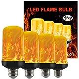 COMY Led Birne Flammen Lampe E27/E26/B22 Flamenlampe Led Leuchtmittel Glühbirnen Glühbirne...