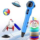 3D Stift fr Kinder,OLICTAR 3D Druckstift mit 12 Farben 1,75mm 120ft PLA Filament LCD Display 3D...