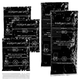 5er Set Kaltkompresse - Warmkompresse schwarz - Intelligent pad pro black - Kompresse Gelkissen -...