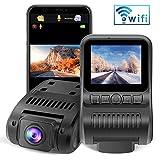 Dashcam WiFi 1080P FHD Autokamera 2.0 Zoll LCD Dashcam with Super Nachtsicht, 170...