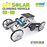 MKZDGM STEM 4WD Auto DIY Klettern Fahrzeug Motor Auto Lehrreiches Solarfahrzeug für Kinder, Montage...