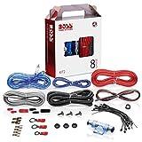BOSS AUDIO KIT2 8 Gauge/ 3,27 mm Auto Installations-Set Verstärker Endstufe Kabel Anschlusskabel...