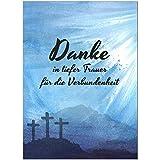 15 x Danksagung Trauerkarten mit 15 Umschlägen im Set - Danke nach Trauer, Beerdigung, Sterbefall,...