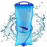 AODOOR 2 Liter Trinkblase, Wasserblase mit Beissventil, Hydration Blase staubdichte und...