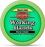 O ''Keeffe 's  arbeiten Hände Wert Größe Jar 193g