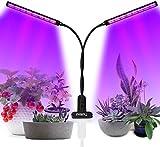 LED Pflanzenlampe, UV & IR Lampe 96 LEDs Grow Lampe dimmbar Pflanzenlicht Vollesspektrum Pflanzen...