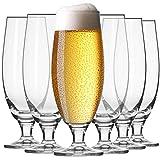 Krosno Pokal Craft Bier-Gläser 0,5 Liter   Set von 6   500 ML   Elite Kollektion   Perfekt für...