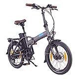 "NCM London 20"" E-Bike, E-Faltrad, 36V 15Ah 540Wh Anthrazit"