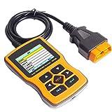 DOFCOC OBD 2-Autodiagnosewerkzeug, OBD2-Scanner, Fehlercode lesen und löschen, Motorerkennung,...