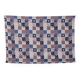 Amosfun Amerikanische Tischdecke Flagge rechteckige Tischdecke Couchtisch Abdeckung für Küche...