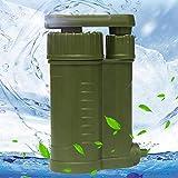 Wasserfilter für den Außenbereich, 0,01 Mikron Wasserfilter, Camping-Zubehör für direkten...