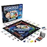 Hasbro E8978100 Banking Cash-Back Brettspiel; elektronischer Kartenleser; Cash-Back Bonus;...